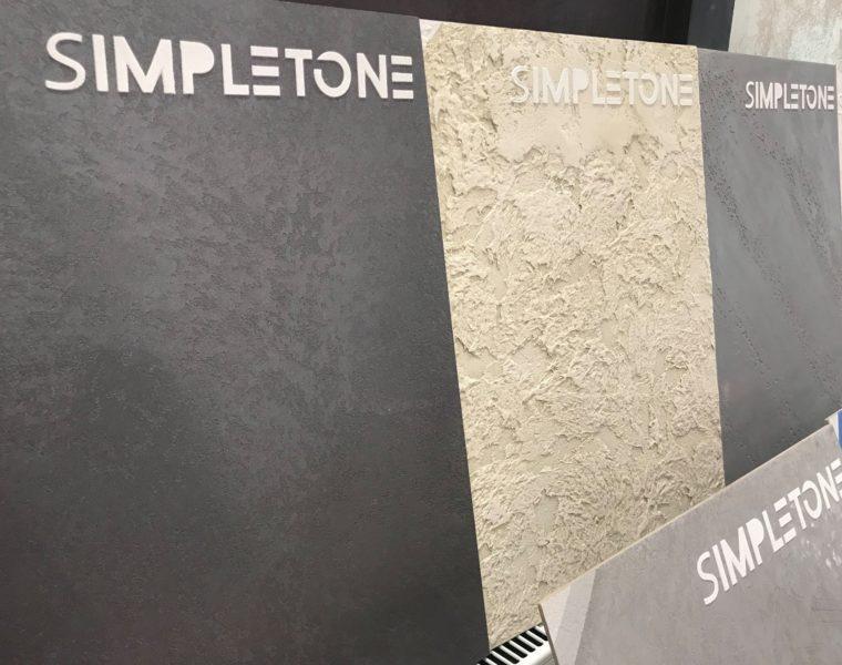 Новинка! Декоративна штукатурка – TM Simpletone!